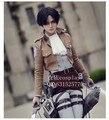 Shingeki no Kyojin Eren Jaeger Attack on Titan Rivaille cosplay costume cloak set