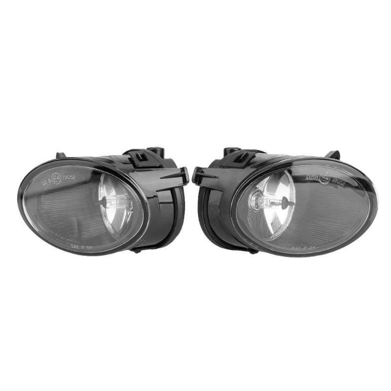 1 Pair Front Left/Right Side Bumper Fog Light Head Lamp Car LED Light for 2005-2008 AUDI A6L C6 Car Light Assembly High Quality rear bumper light fog lamp for mazda cx 5 left and right top quality