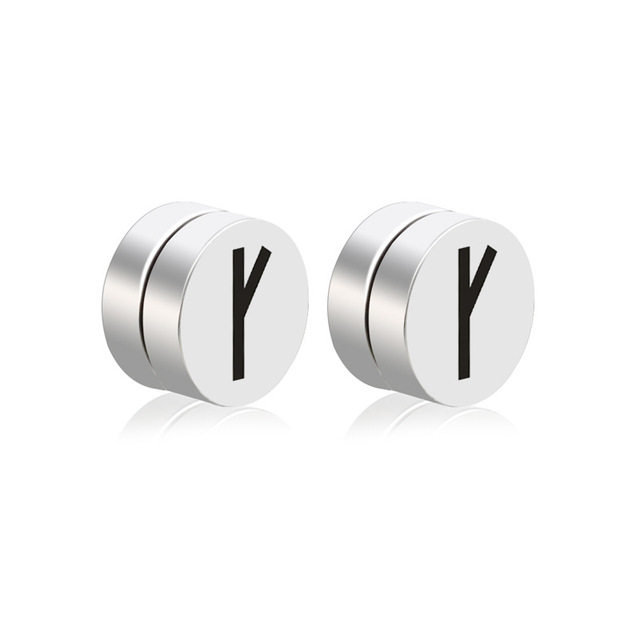 Alisouy 2pcs Mens Earring Set Stainless Steel Circle Magnetic Clip Stud Earrings Magnet Fake Plugs No.jpg 640x640 - Alisouy 2pcs Mens Earring Set Stainless Steel Circle Magnetic Clip Stud Earrings Magnet Fake Plugs No Piercing Women Jewelry