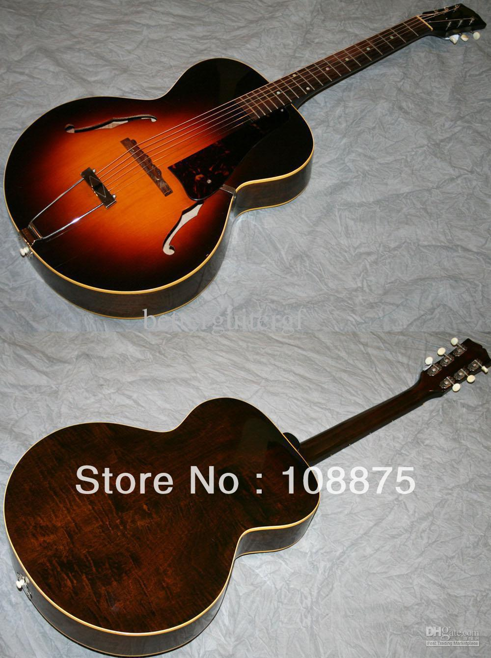 custom shop high quality guitar electric guitar musical instruments archtop acoustic guitar. Black Bedroom Furniture Sets. Home Design Ideas