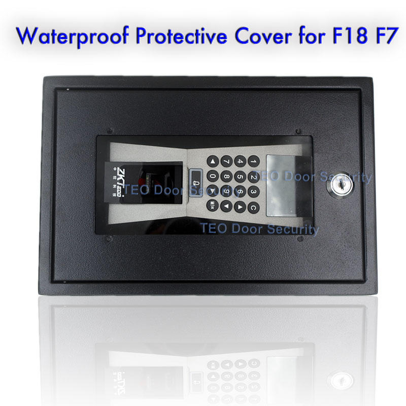 ZKTeco F7 Access Control Cover suitable for F18 F7 Plus Protection Shell Waterproof Cover Rain Cover Access Device Case pradella f7 802sj
