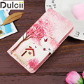For Lenovo A 319 Cover Patterned PU Leather Flip Phone Case Lenova Chekhol na for Lenovo A319