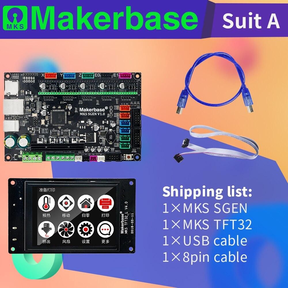 Makerbase high performance controller kit MKS SGen and MKS TFT32