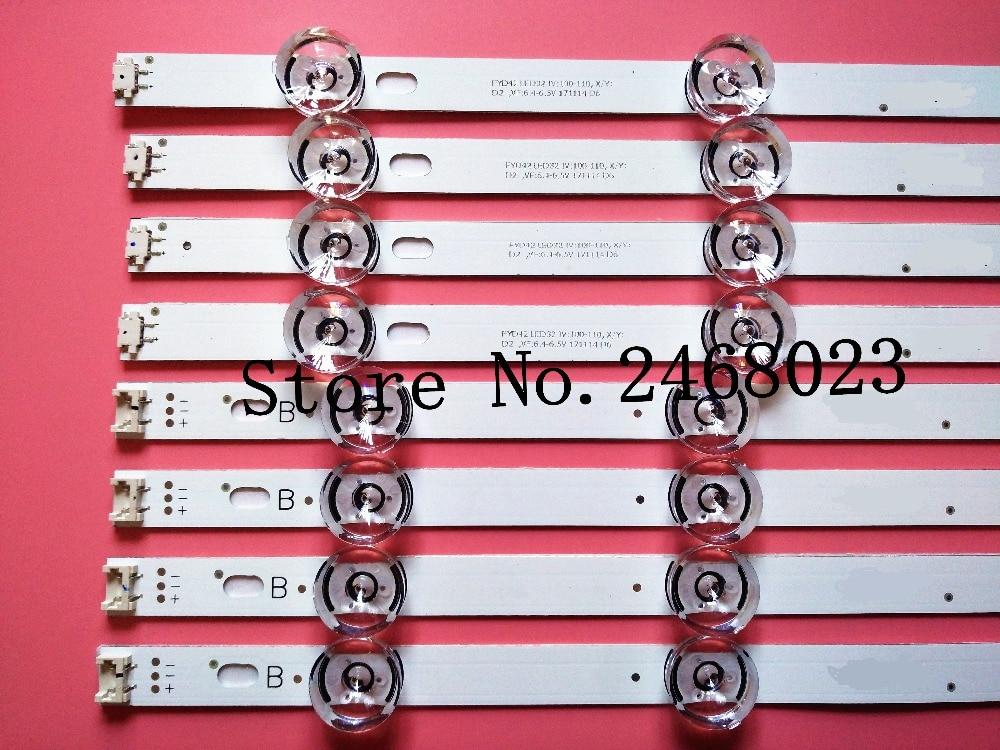 Brand New Backlight LED strips LED bar for LC420DUE LG TV LG42LB580V INNOTEK DRT 3.0 42-A/B Type 6916L 1709B 1710B 1957E 1956A 775mm led backlight lamps kit w optical lens fliter for 39 40 tv monitor panel 12pcs led strips driver board