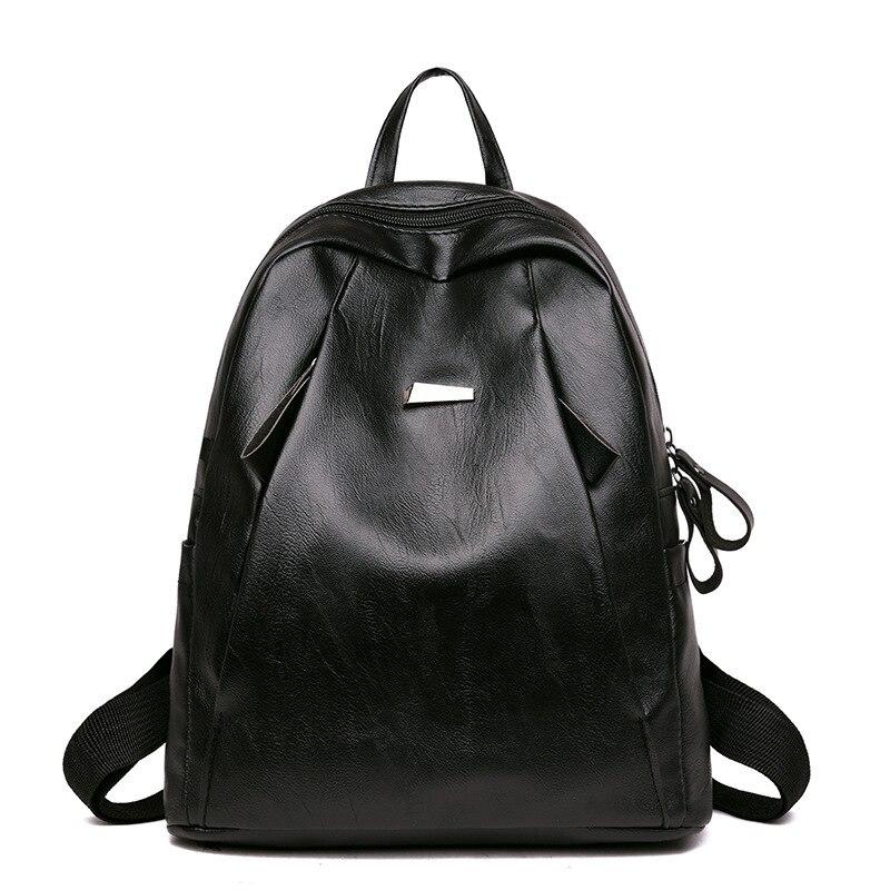 NPASON 2018 плечи посылка женщина рюкзак из искусственной кожи посылка мягкий кожаный рюкзак для путешествий для девочек Для досуга сообщение с...