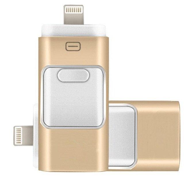 Mejor precio usb dispositivo de almacenamiento de 16 gb flash drive memory stick para ios iphone ipad otg