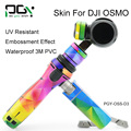 PGY DJI Osmo PVC Skin Decal Sticker shell 4K Camera with 3-Axis Gimbal Aerial Photography Handheld camera accessories PGY-OSS-D3