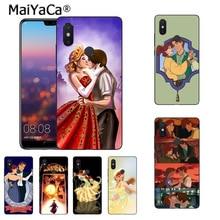 MaiYaCa Anastasia y Di mi tri pinturas móvil de la cubierta de funda de teléfono para Xiaomi mi 8se 6 note3 redmi 5 5plus Nota 5 caso coque