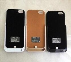 Produto Original 4200 mAh Extemal backup Carregador de Bateria Case Para iphone 5S 5 SE 6 6 s Banco de Energia Móvel casos