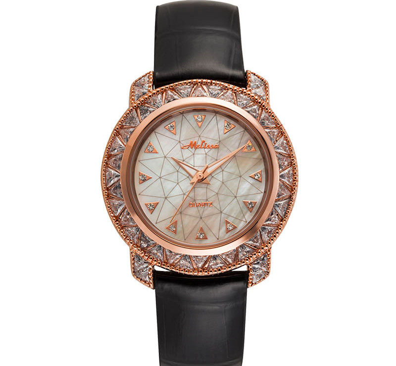 New Arrived MELISSA Dress Watches Luxury Full Crystals Women Wrist watch Genuine Leather Shell Relogios Feminino Montre F12218New Arrived MELISSA Dress Watches Luxury Full Crystals Women Wrist watch Genuine Leather Shell Relogios Feminino Montre F12218