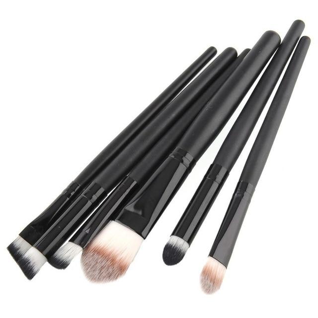 Pro 20pcs Make Up Brushes Eyeshadow Eyebrow Mascara Lip Sponge Eyeliner Brushes Set Kit