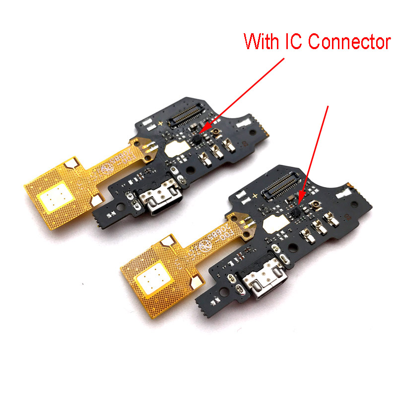 New Micro Dock Connector PCB Board USB Charging Port Flex Cable Ribbon Ribbon For ZTE blade v6 plus