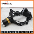 Waterproof cree xml t6 3 modes headlight headlamp lantern head light torch head lamp by 2x18650 rechargeable camping