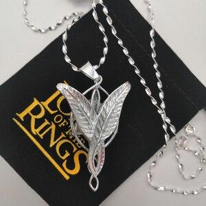 Image 5 - Alta qualidade lotr s925 sliver arwen evenstar pingente colar presente do dia dos namorados para namorada menina mulher sliver jóias