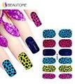 Мода Leopard 3D Дизайн Совет Nail Art Nail Наклейки Ногти Наклейки Резьба Ногтей Украшения Adesivo Де Унха Atacado
