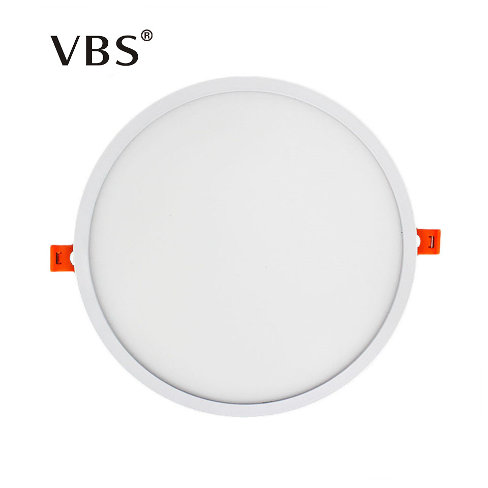 Narrow Frame Led Panel Light 6w 12w 18w 24w Round Square Ultra Thin Led downlight Cold White Warm White Indoor Lighting