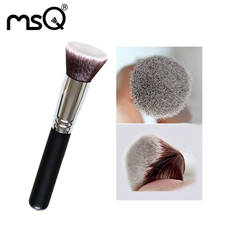 Blush Brush Makeup Brushes Professional Brushes For Make Up Synthetic Hair Brush For Powder Wood Handle Cosmetic Tool For Makeup make up factory blush brush