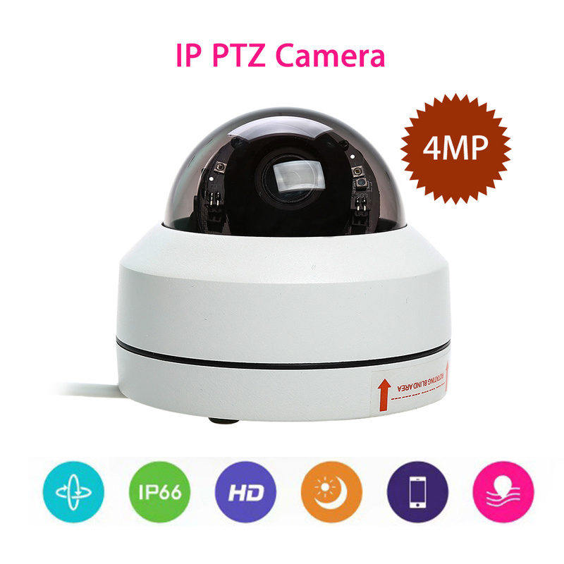 Vandal proof IP66 Outdoor PTZ Security Camera HD 1080P 3x Optical Zoom Night Vision Home Security IP Cameras Remote Camera