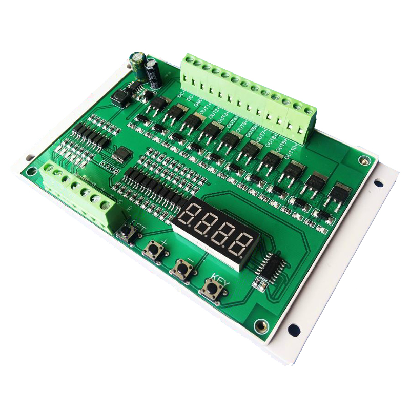 Multi-channel power timing sequencer / timing / pulse / random / trigger programmable control panel / module PLC