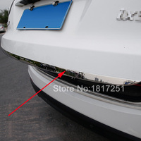 For 2010 2016 Hyundai Ix35 Door Sticker Stainless Steel Tail Door Trim Car Styling Accessories