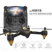 Оригинальный Радиоуправляемый Дрон с камерой 1080P HD Hubsan h501s x4 5.8g FPV Quadcopter с gps Follow Me CF режим автоматического возврата F17999