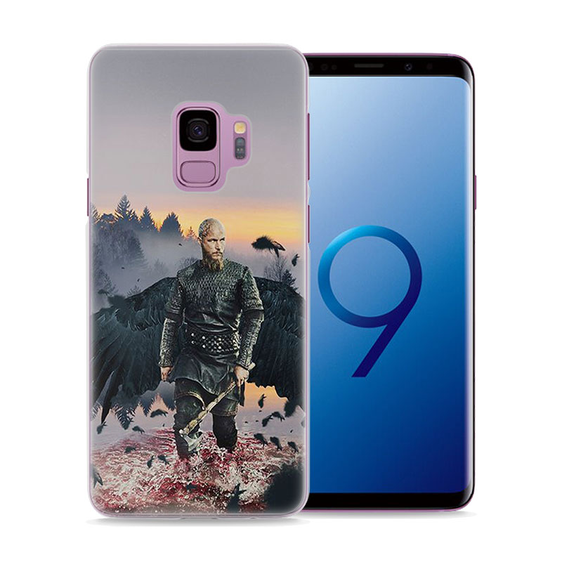 MOUGOL Vikings TV show Style hard Clear Phone Case for Samsung S9 S9Plus S8 S8Plus S6 S7 edge S5 Note8 5 4