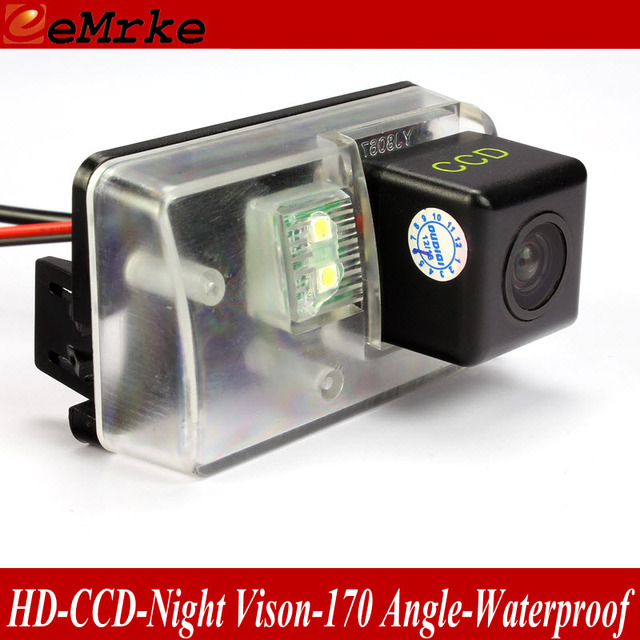 eeMrke For Citroen C5 RD/TD 2006~2016 / C6 2005-2012 Rearview Camera CCD HD Night Vision Rear Parking Camera