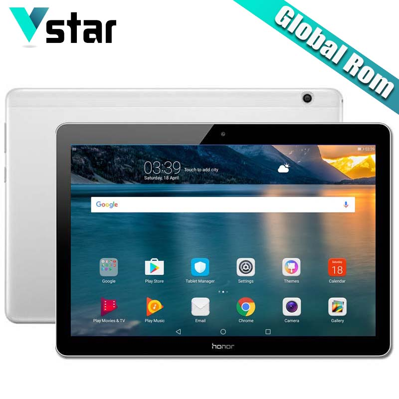Global rom Huawei Honor MediaPad T3 10 Android 7 0 Honor play Tablet 2 9 6
