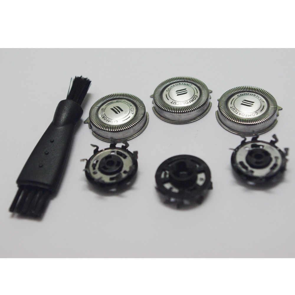 3 x Yedek Tıraş Makinesi Kafa Philips Norelco Spectra HQ8 HQ6075 HQ 6090 7320 7340 7360 6071