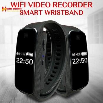 1080P Smart Small Digital Mini Wireless WIFI Camera DV Video Voice Recorder Monitor Sports Bracelet Micro Cam Secret Camcorder