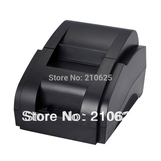 Бесплатная Доставка USB 58 мм пос чековый принтер термопечати с блоком питания встроенный мини-принтеры