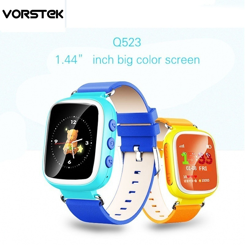 Best selling GPS Q523 Touch Screen WIFI Smart Watch Children SOS Call Location Finder Device Tracker Kid Safe Anti Lost Monitor wireless service call bell system popular in restaurant ce passed 433 92mhz full equipment watch pager 1 watch 7 call button