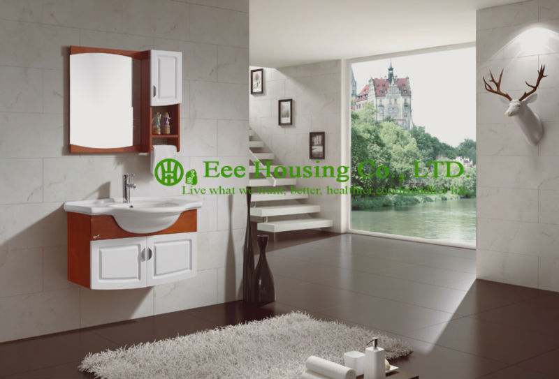 bathroom cabinet best selling european modern furniture wall hung new waves waterproof bathroom vanity