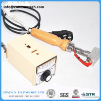 Small Handheld Adjustable Temperature Stamping Machine Leather Embossing Machine LOGO Trademark Branding Machine 5x3cm
