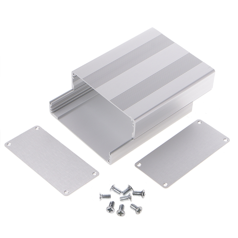 Aluminum Box Enclosure Case Project Electronic For PCB Board DIY 130x110x50mm %328/328 4pcs a lot diy plastic enclosure for electronic handheld led junction box abs housing control box waterproof case 238 134 50mm