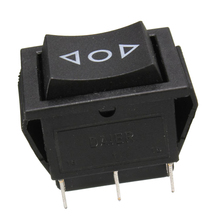 6-Pin DPDT Power Window Momentary Rocker Switch for Windows Sunroofs Actuators on Cars 250V/10A 125V/15A 10 pieces 6 pin toggle dpdt on off on momentary switch 15a 250v