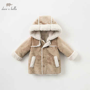 DB8477 dave bella autumn winter baby boys hooded jacket children high quality coat kids outerwear - DISCOUNT ITEM  50% OFF All Category