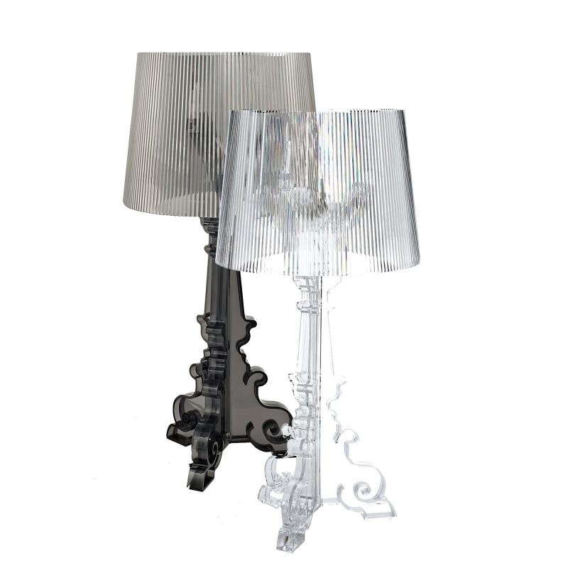 GZMJ Wonderland Modern Large Acrylic Shadows Bedroom Bedside Table Lamps LED Ghost Table Lamp Reading Desk Lights Home Lighting