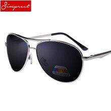 SIMPRECT Brand Sunglasses Men Polarized UV400 High Quality M