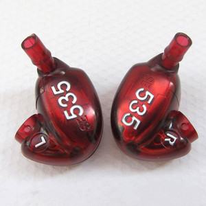 Image 5 - Se535 fone de ouvido hi fi estéreo destacável, boa qualidade, som se 535 edição especial, vermelho bronze com caixa vs se215