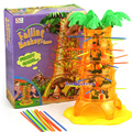 Best Selling Cartoon Monkey Game Plastic Toy Child Gift Christmas Present  Practical Jokes 16pcs/Box Over 6 Ages