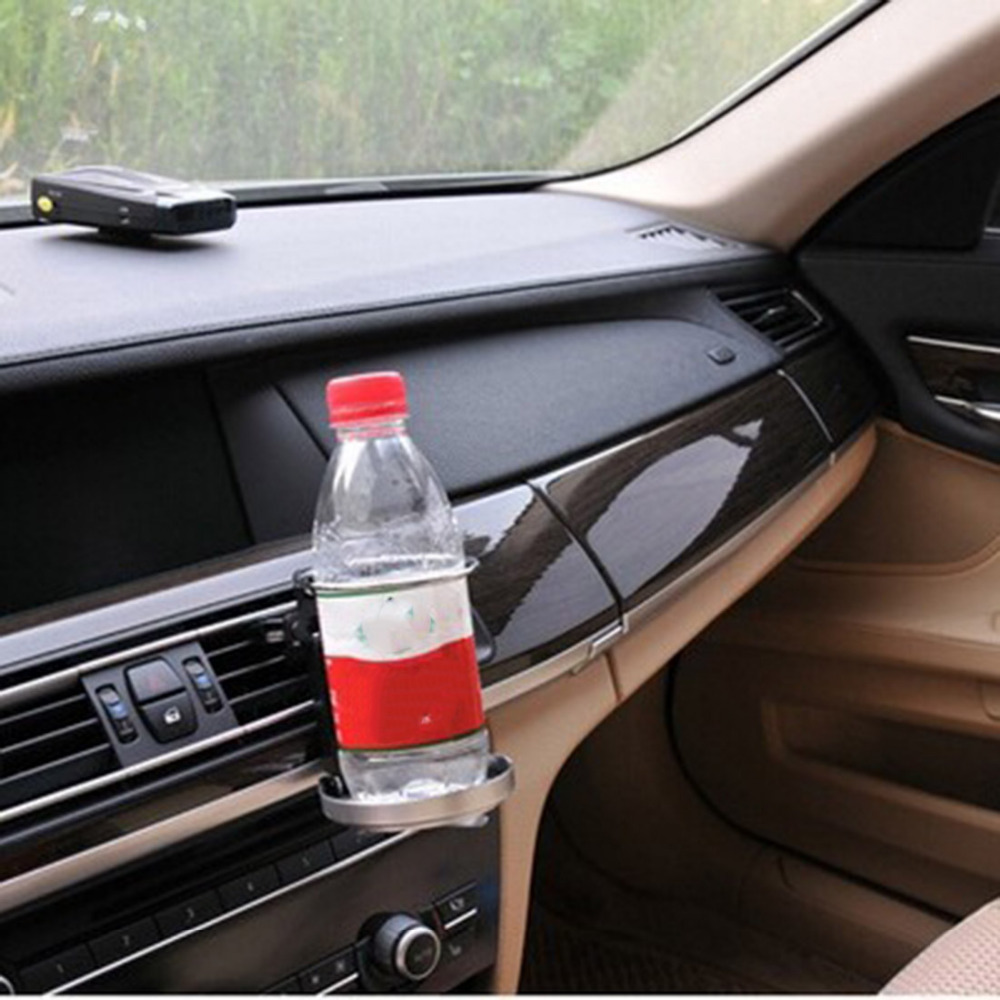 цена на Dewtreetali Universal Folding Air Conditioning Inlet Auto Car Drink Holder Car Beverage Bottle Cup Car Frame for Truck Van Drink