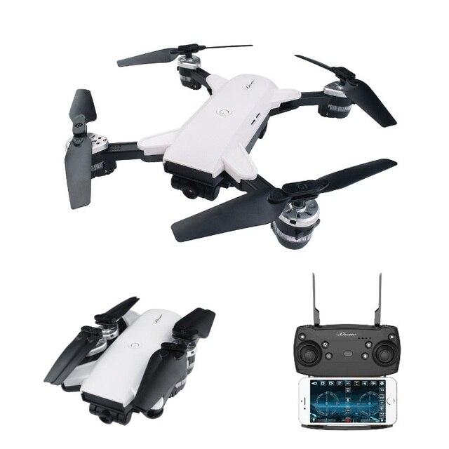 Teeggi YH-19HW Mini Foldable RC Drone With FPV HD Camera Altitude Hold Quadcopter Dron VS Visuo XS809HW E58 Helicopter