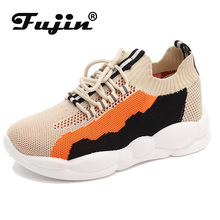 Fujin Brand Spring Autumn Women Shoes Flat Sneakers Female Loafers Soft  Casual Flats Shoes  Female Zapatillas Mujer Espadrilles