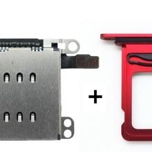 1 комплект = 2 шт, двойной разъем для считывания sim-карт гибкий кабель+ держатель для лотка для sim-карт+ открытый эжектор для извлечения для iPhone XR