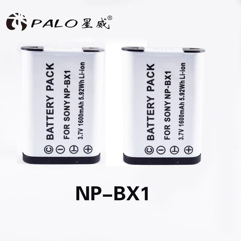 Vente chaude 2 pc 1350 mah NP-BX1 NP BX1 batterie pour sony dsc RX1 RX100 M3 M2 RX1R GWP88 PJ240E AS15 WX350 WX300 HX300 HX400