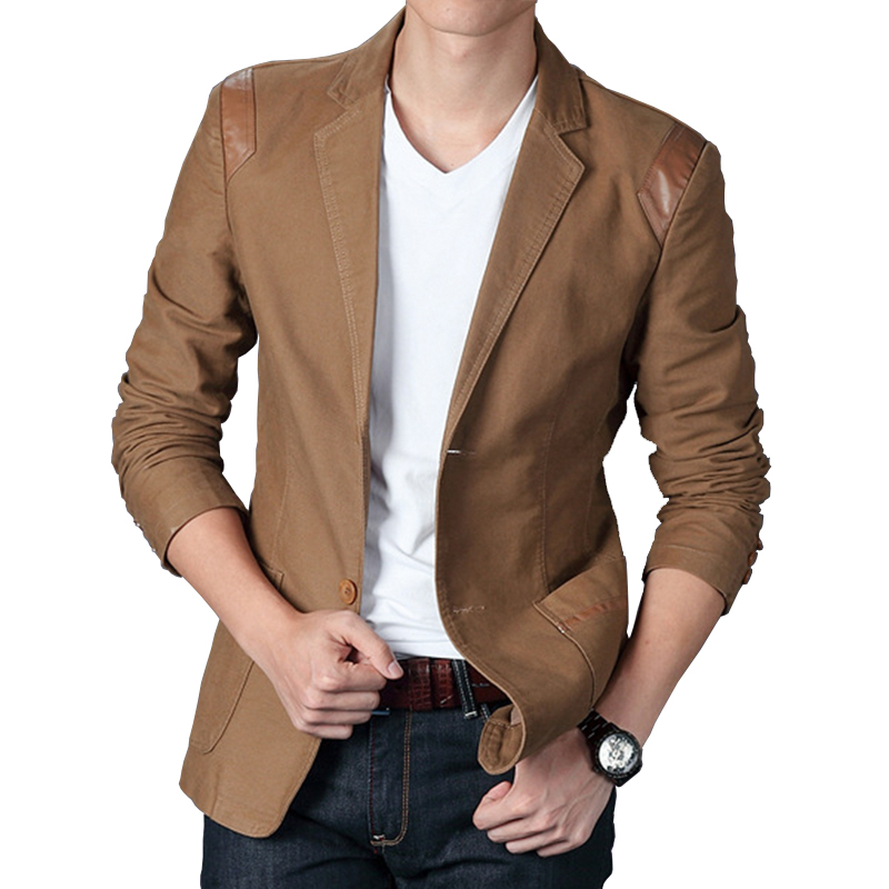 Popular Khaki Blazer-Buy Cheap Khaki Blazer lots from China Khaki