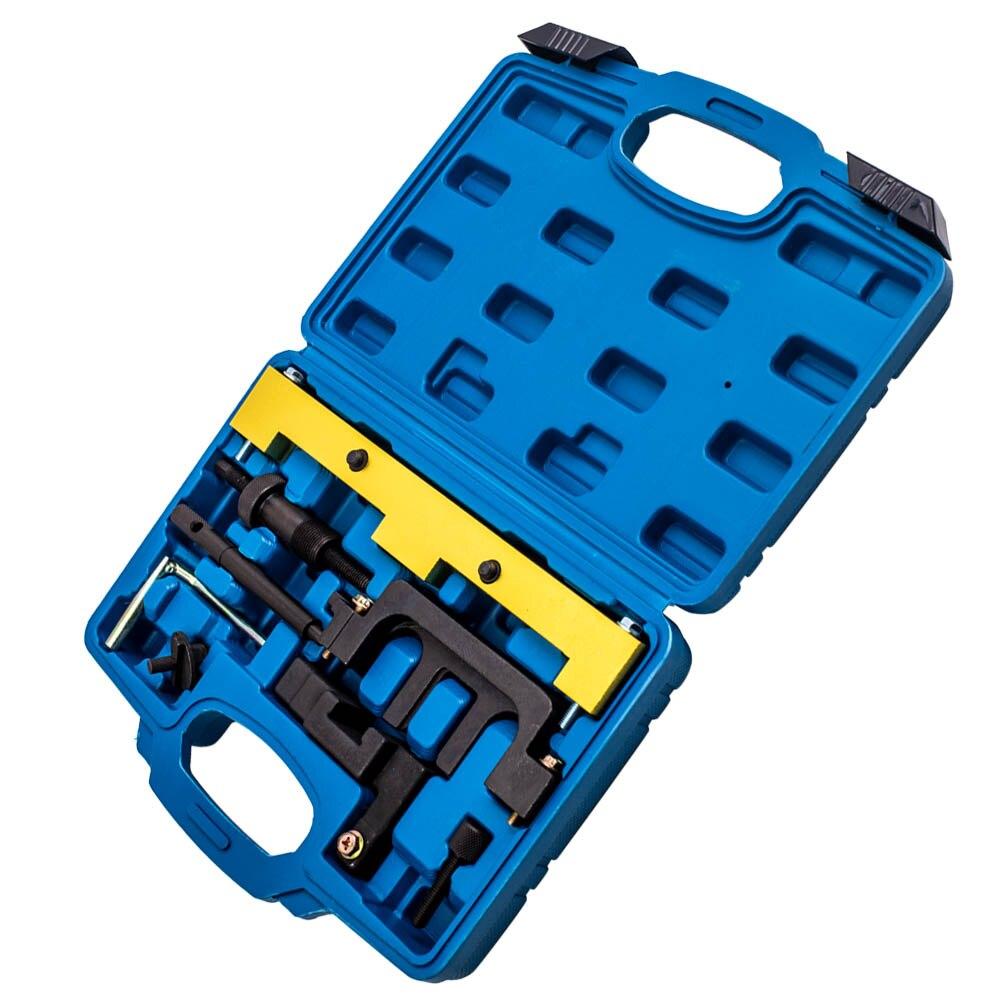 Ensemble de distribution d'alignement de moteur d'arbre à cames pour BMW N42 N46 outils de moteur Kit d'outils de verrouillage d'entraînement de chaîne