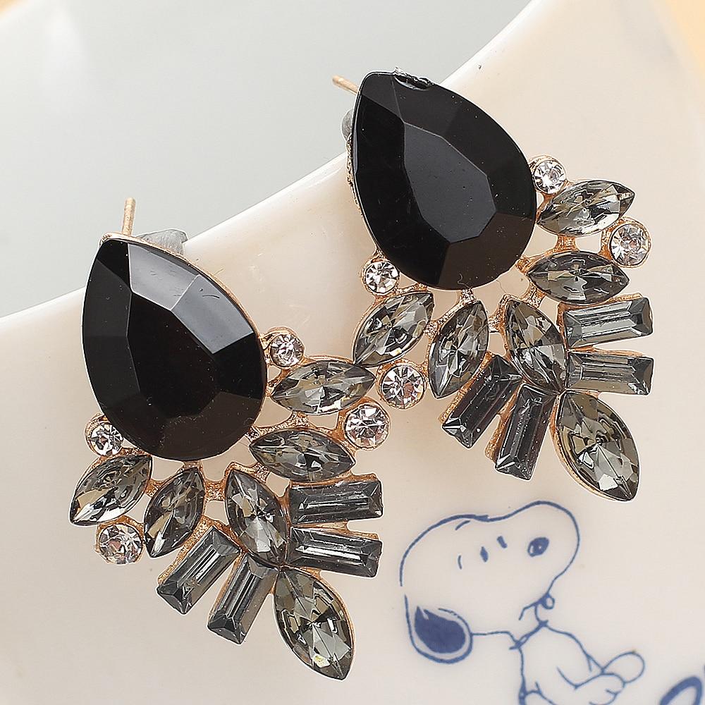 Handmade Dangle Earrings with Rhinestones Earrings Jewelry Women Jewelry