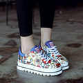 women casual shoes fashion trending Flat platform shoes Ladies walking Shoes young student  shoes sh020139